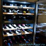 Как и где хранить вино. Винный шкаф